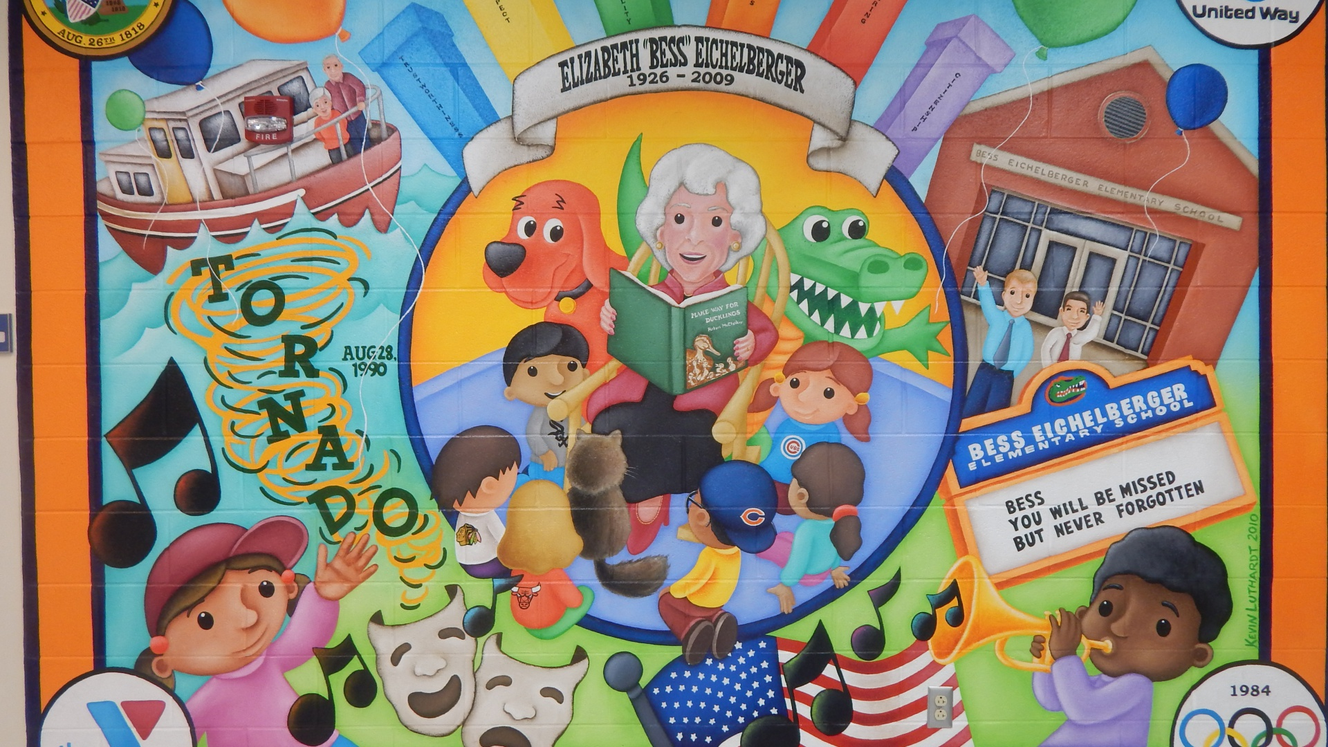 slidshow image - Welcome to Eichelberger Elementary - Mural